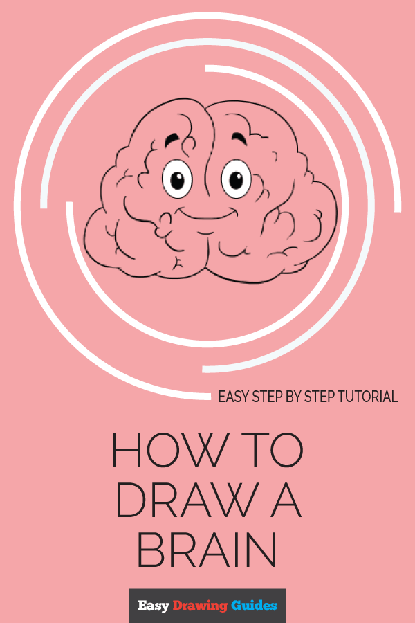 How to Draw Brain | Share to Pinterest