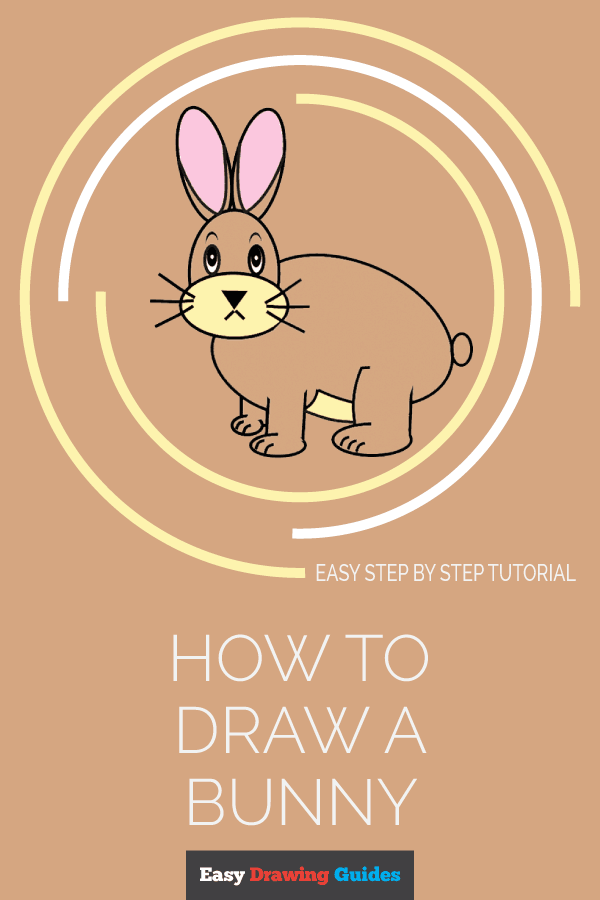How to Draw Bunny | Share to Pinterest