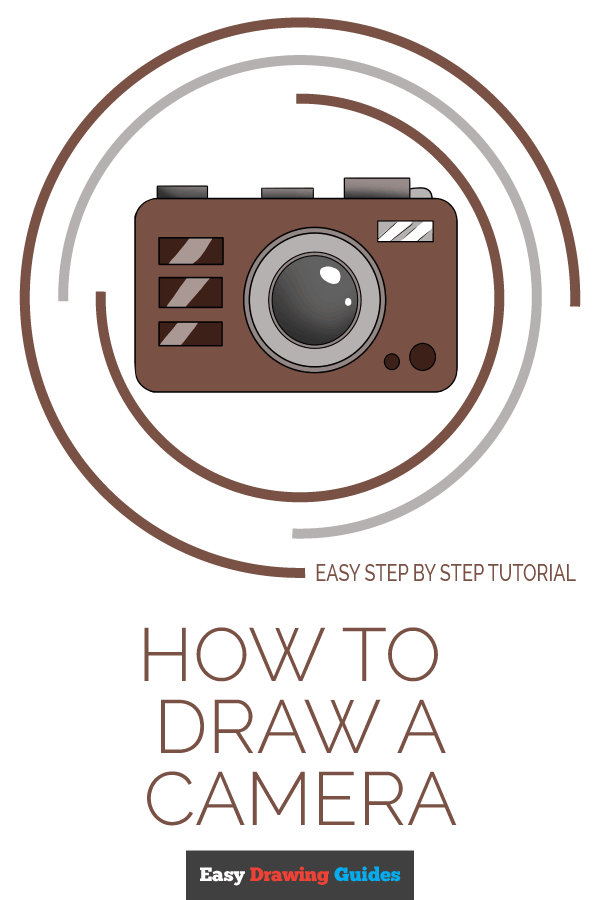 How to Draw Camera | Share to Pinterest