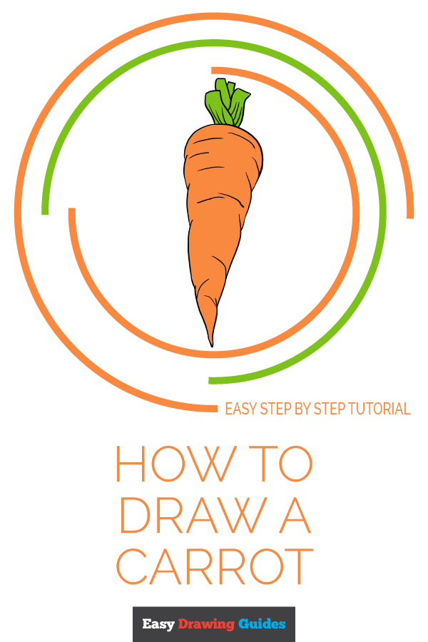 How to Draw Carrot | Share to Pinterest
