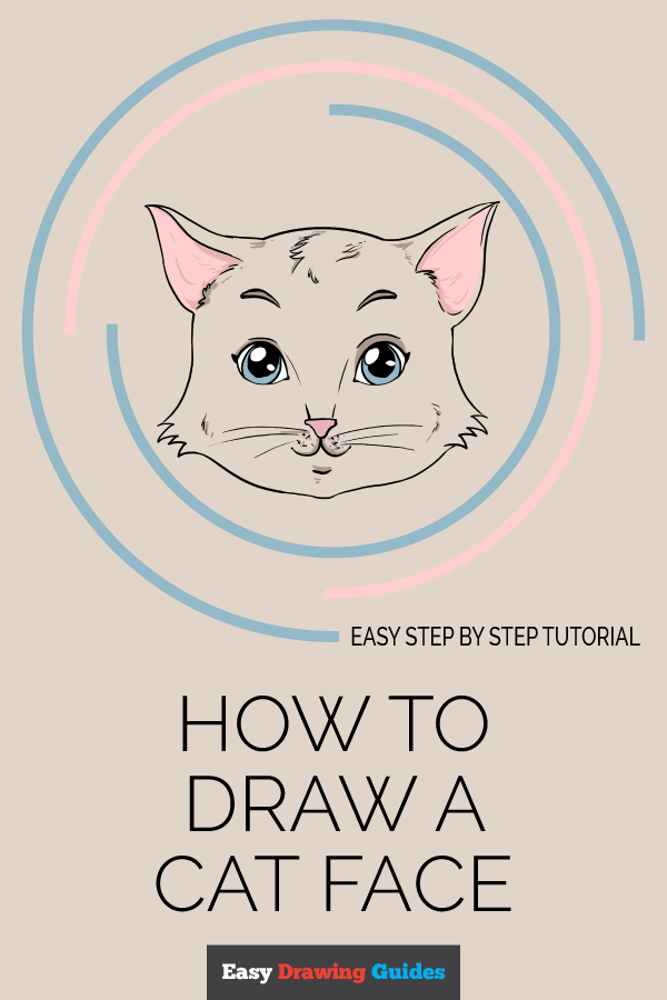 It's just a graphic of Comprehensive Drawing Cat Face