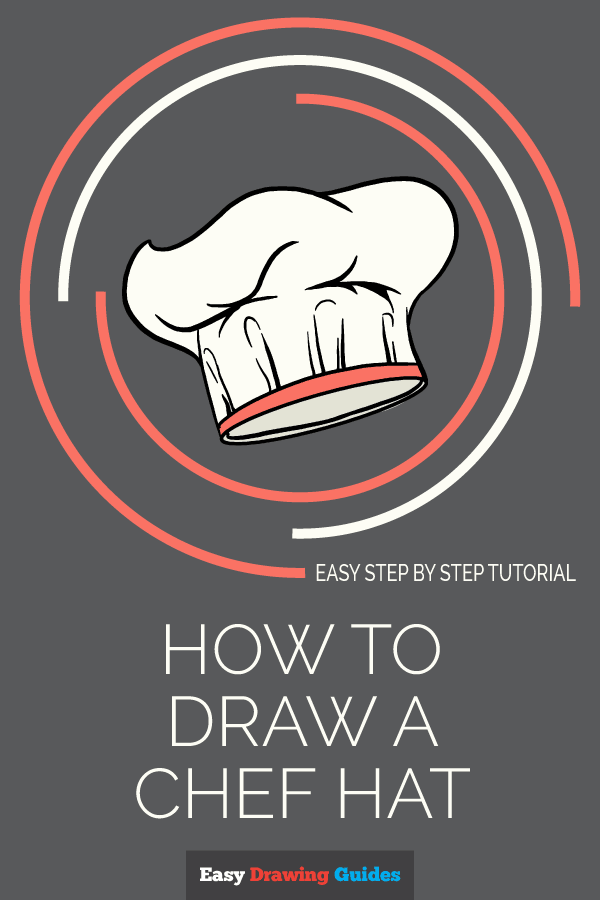 How to Draw a Chef Hat | Share to Pinterest