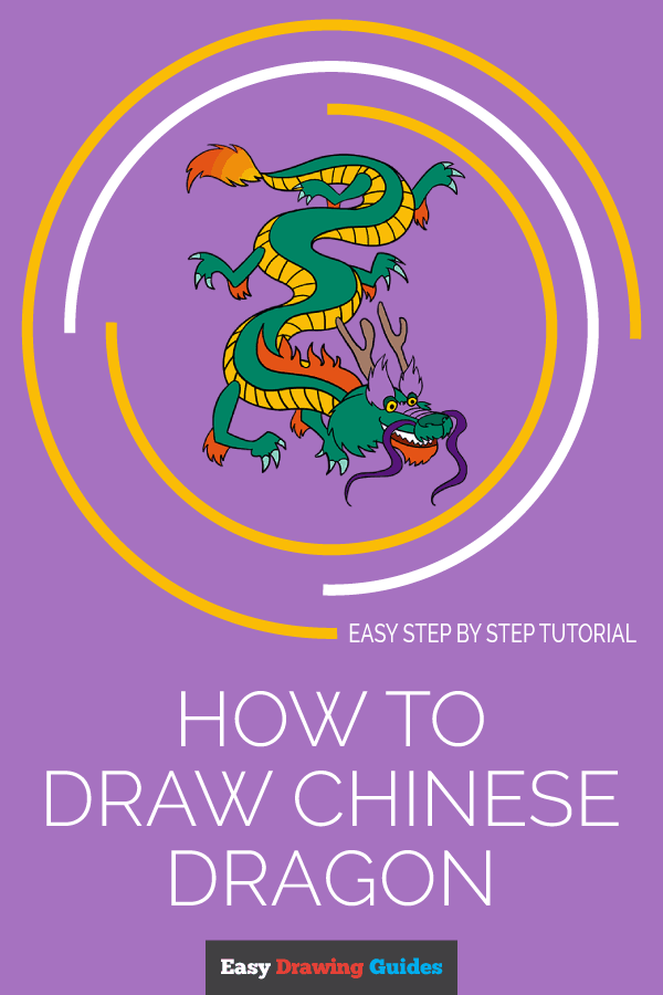 How to Draw Chinese Dragon | Share to Pinterest