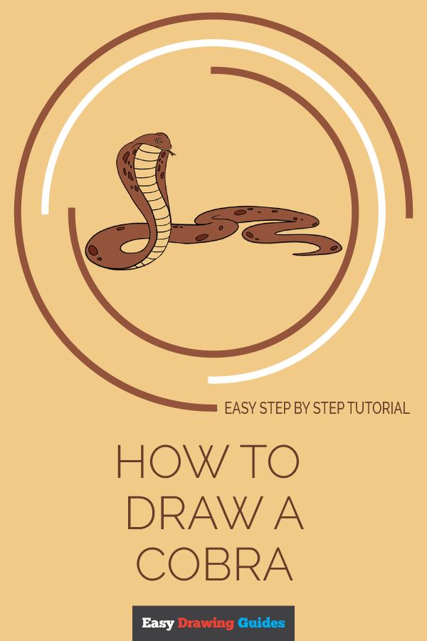 How to Draw Cobra | Share to Pinterest