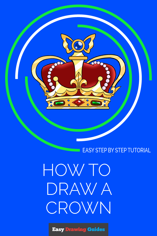 How to Draw Crown | Share to Pinterest