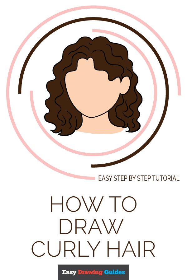 How to Draw Curly Hair | Share to Pinterest