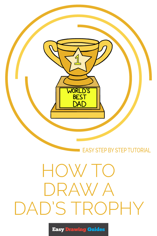 How to Draw Trophy | Share to Pinterest