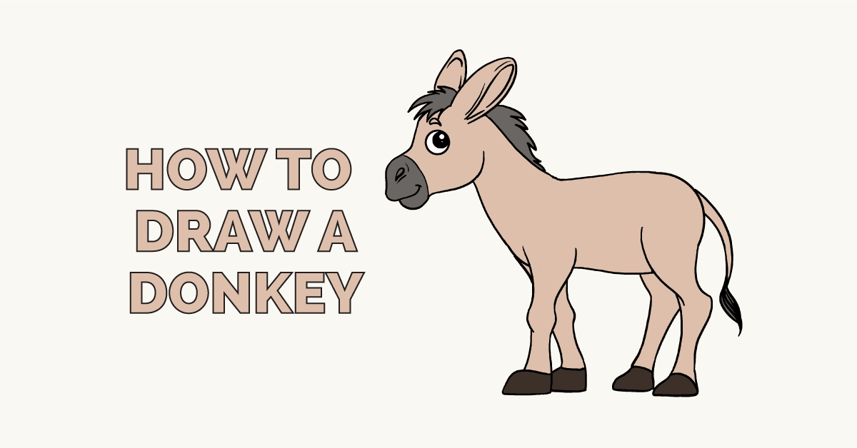How to Draw a Donkey: Featured Image