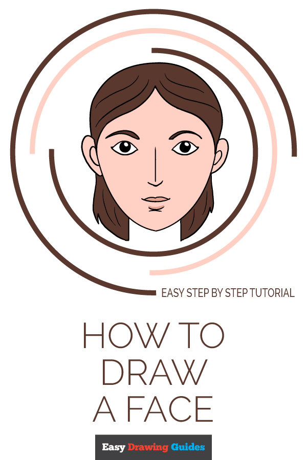 How to Draw Face | Share to Pinterest