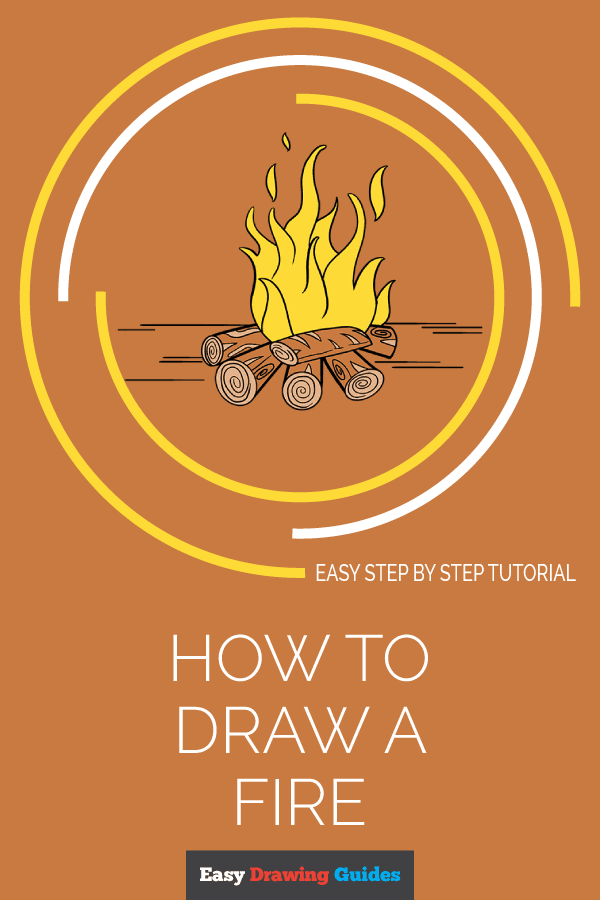 How to Draw Fire | Share to Pinterest