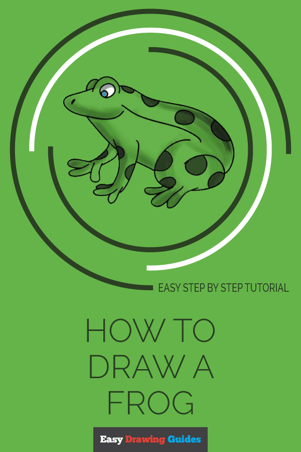 How to Draw Frog | Share to Pinterest