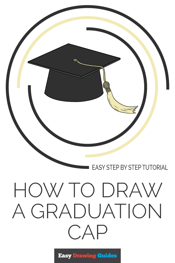 How to Draw Graduation Cap | Share to Pinterest
