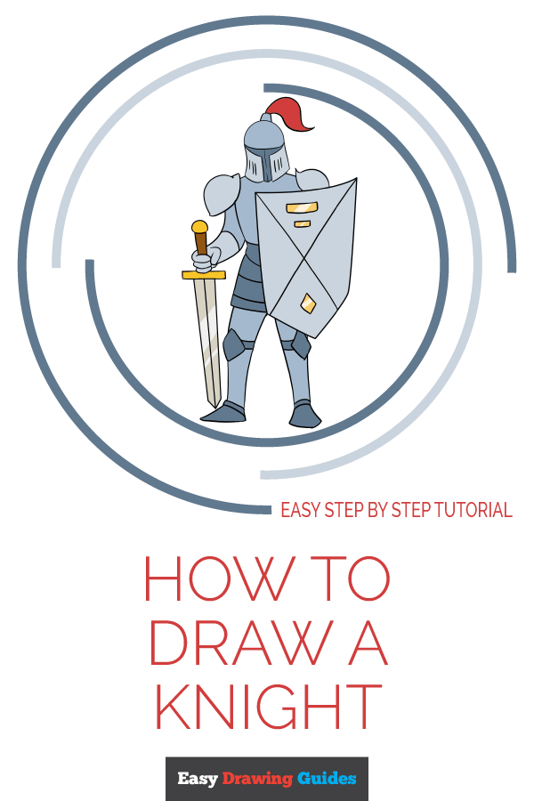 How to Draw Knight | Share to Pinterest