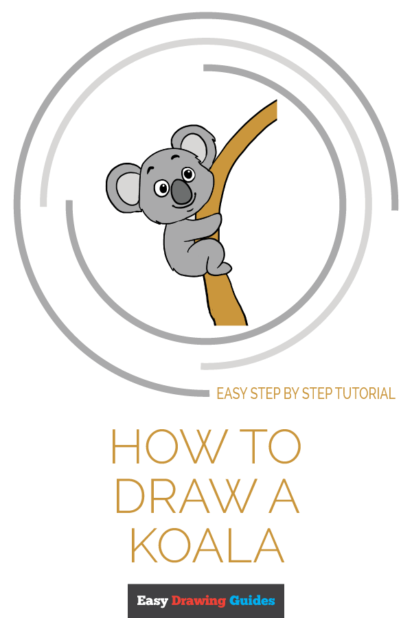 How to Draw Koala | Share to Pinterest