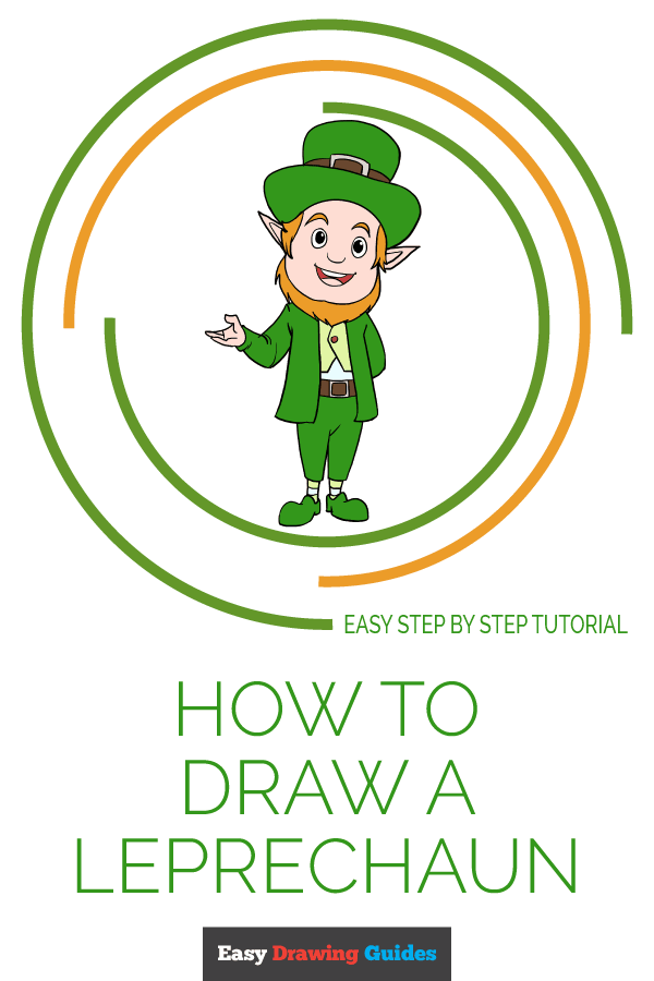 How to Draw Leprechaun | Share to Pinterest