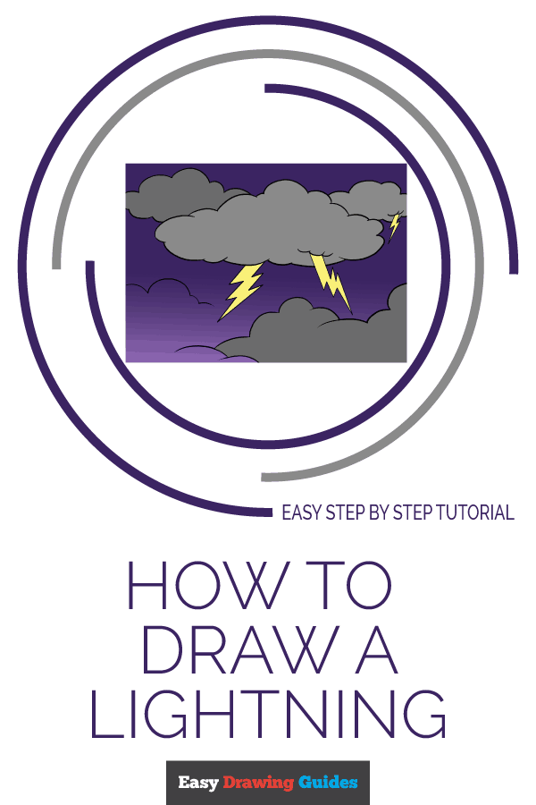 How to Draw Lightning | Share to Pinterest