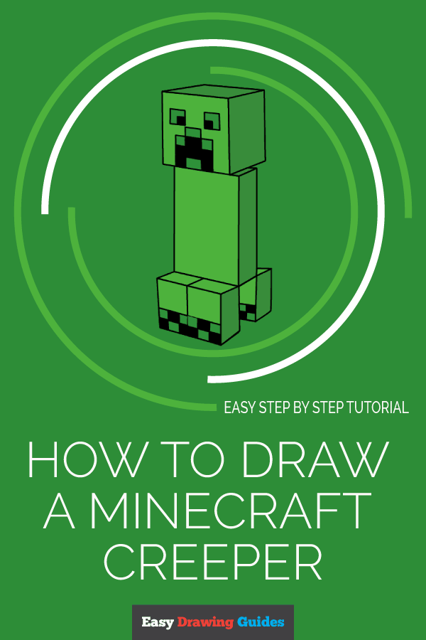 How to Draw a Minecraft | Share to Pinterest