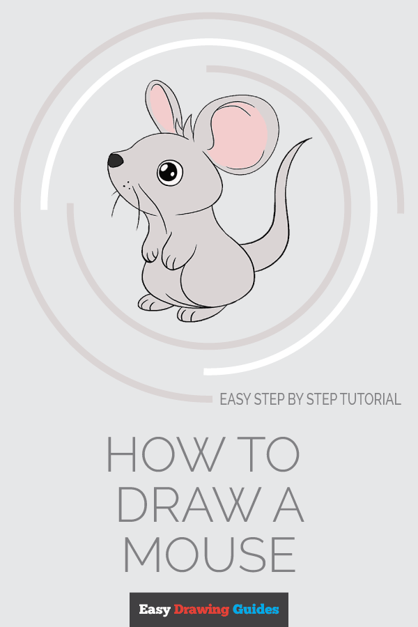How to Draw Mouse | Share to Pinterest