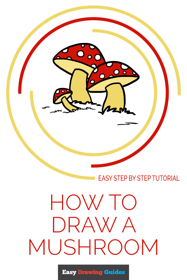 How to Draw Mushroom | Share to Pinterest
