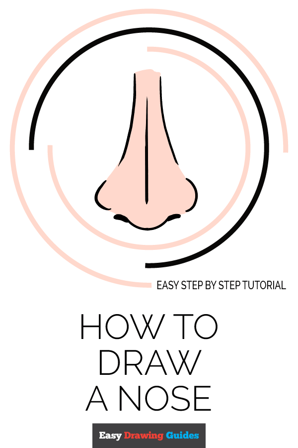How to Draw Nose | Share to Pinterest
