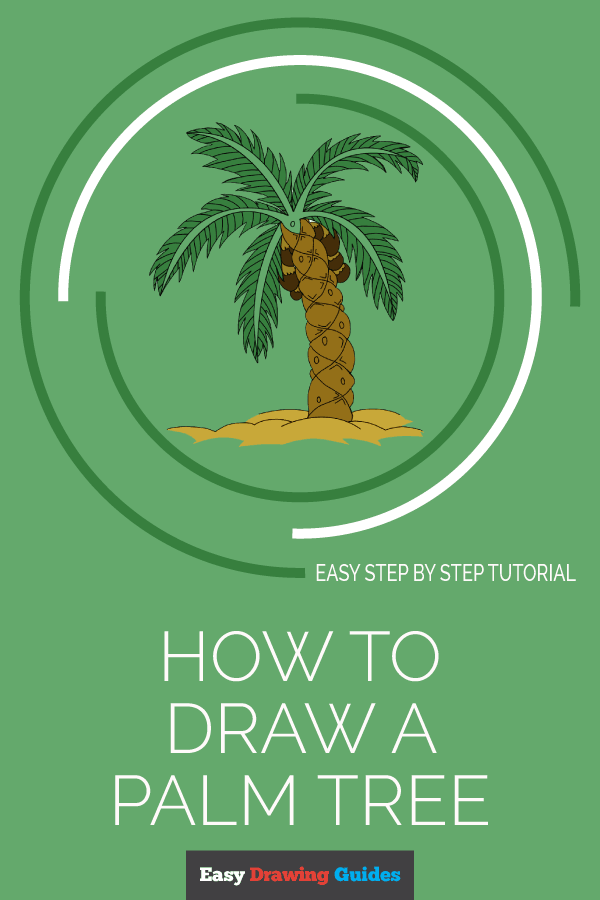 How to Draw Palm Tree | Share to Pinterest