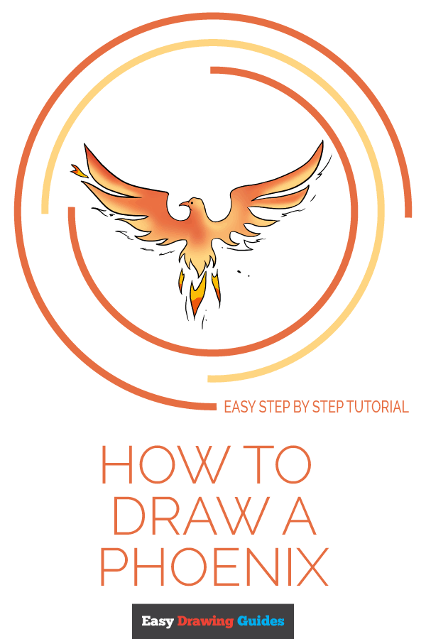 How to Draw Phoenix | Share to Pinterest