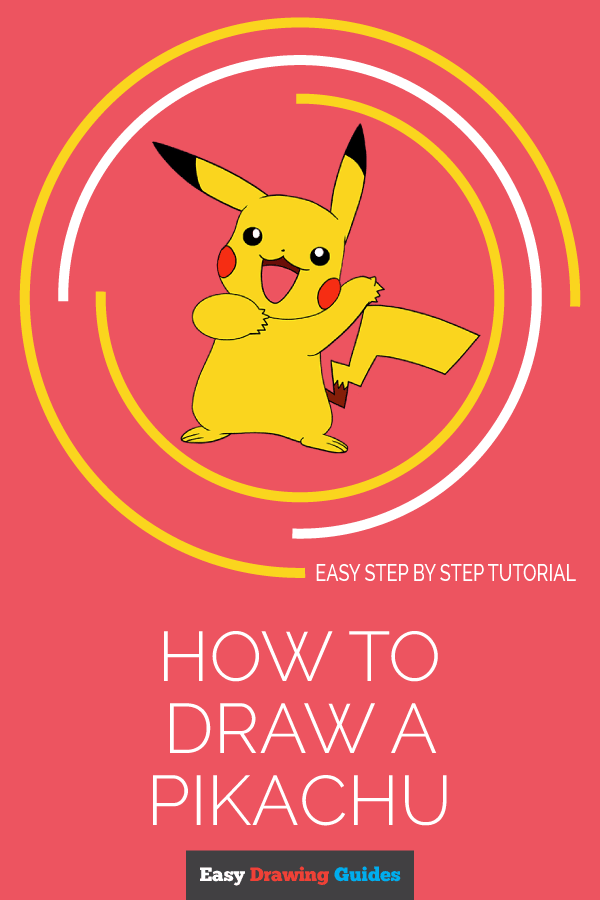 How to Draw a Pikachu | Share to Pinterest