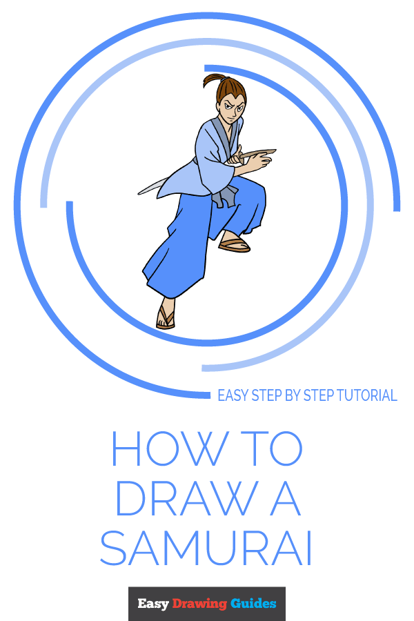 How to Draw Samurai | Share to Pinterest