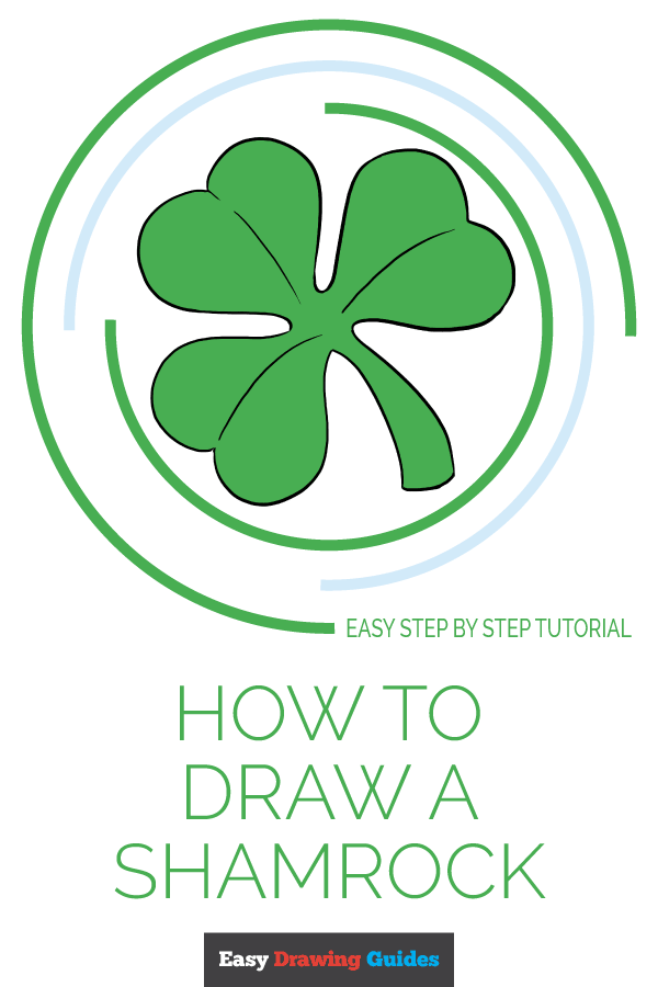 How to Draw Shamrock | Share to Pinterest