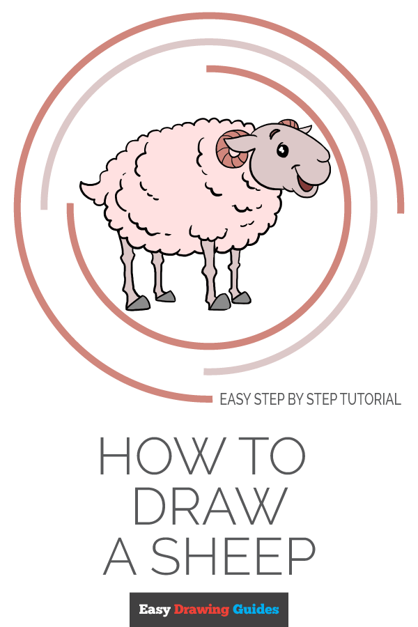 How to Draw Sheep | Share to Pinterest
