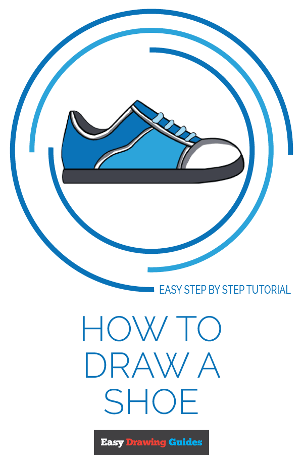 How to Draw a Shoe , Really Easy Drawing Tutorial