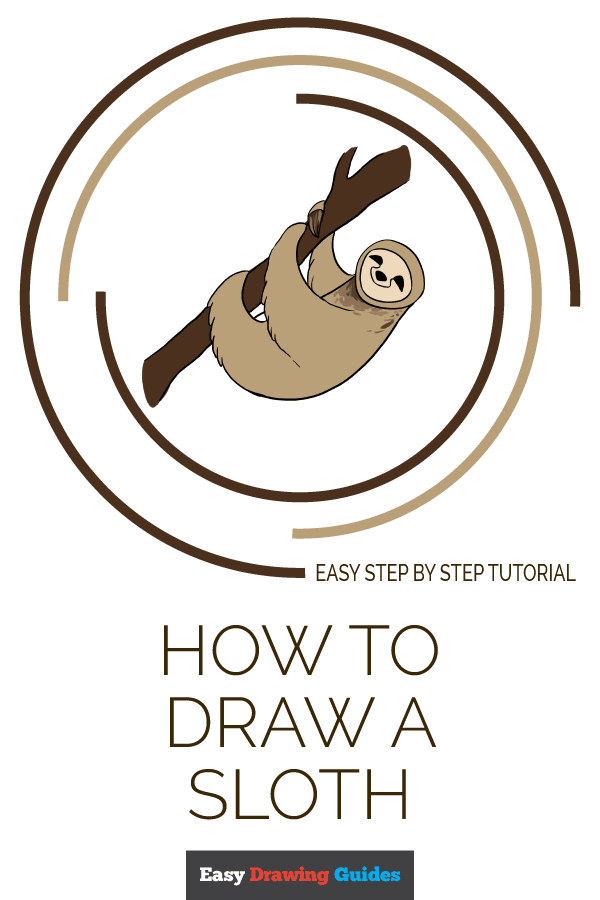 How to Draw Sloth | Share to Pinterest