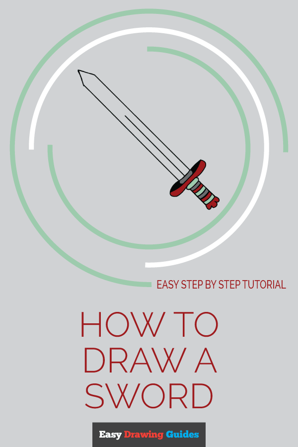 How to Draw Sword | Share to Pinterest