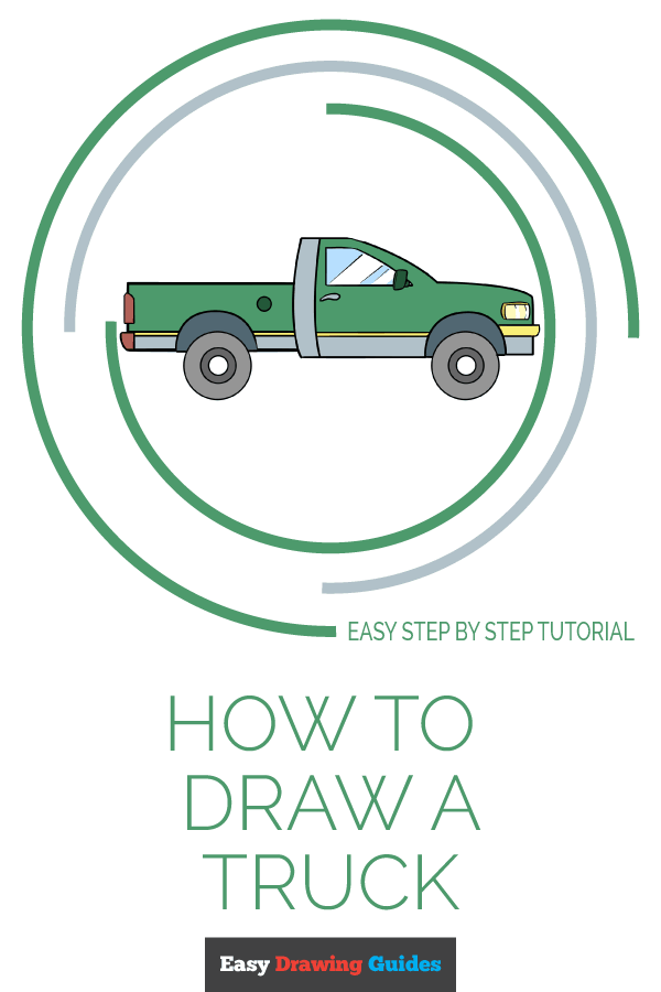 How to Draw Truck | Share to Pinterest