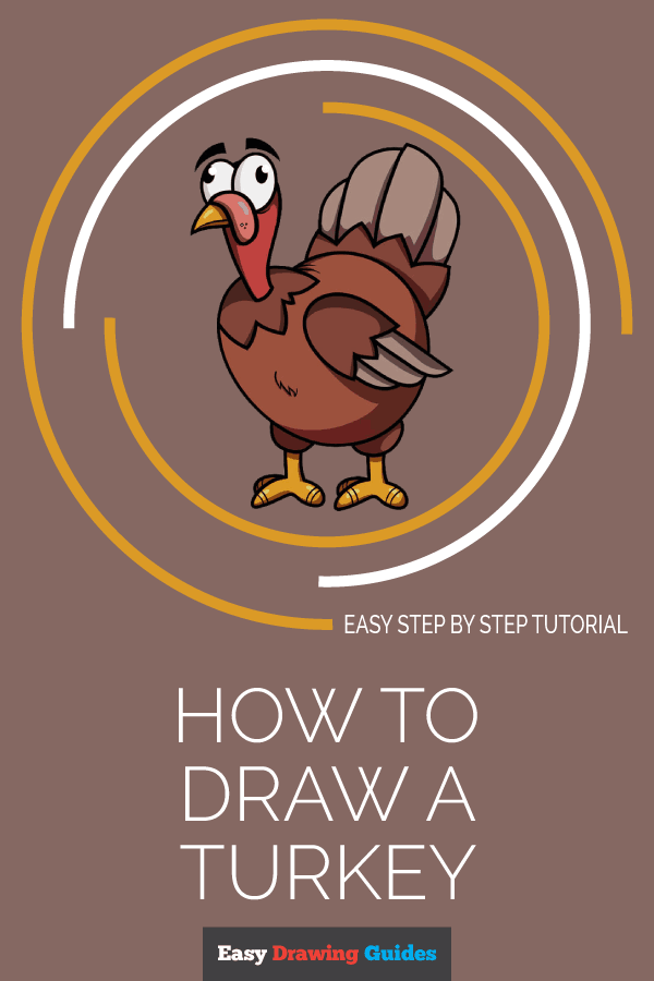 How to Draw Turkey | Share to Pinterest