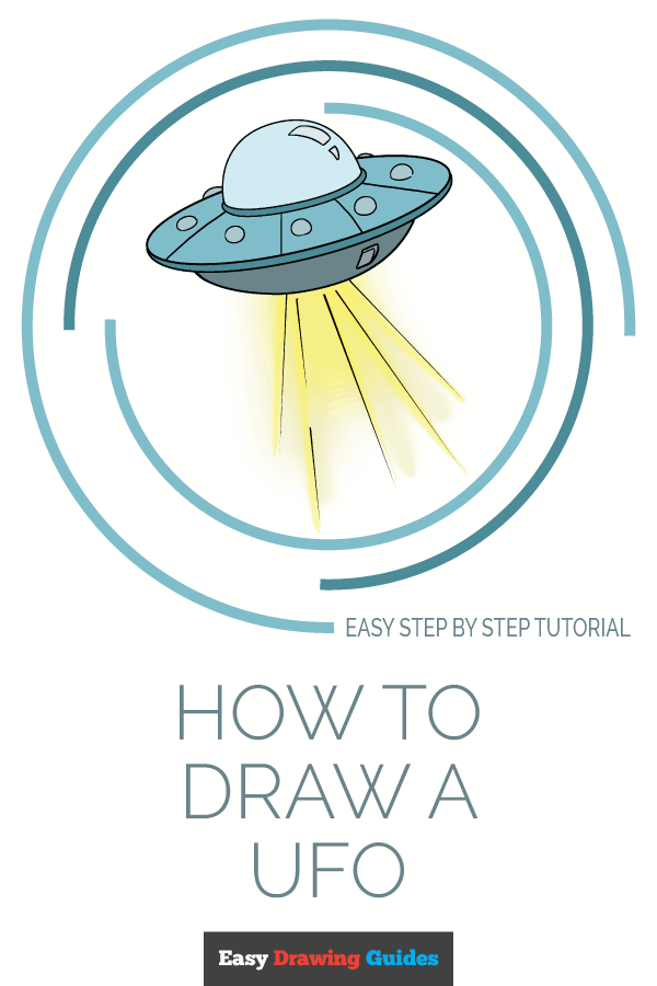 How to Draw UFO | Share to Pinterest