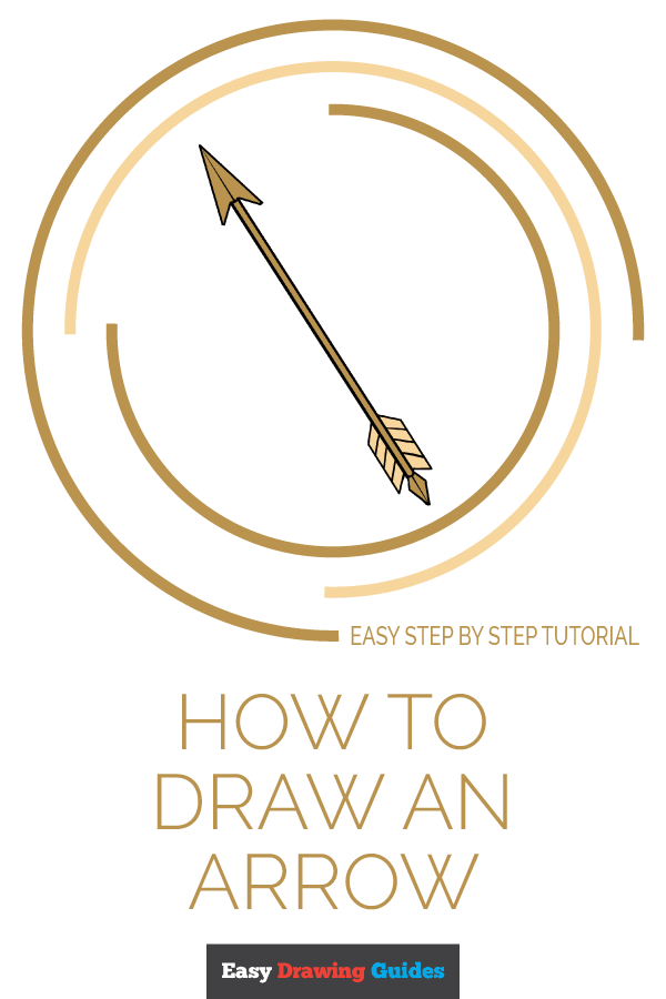 How to Draw Arrow | Share to Pinterest