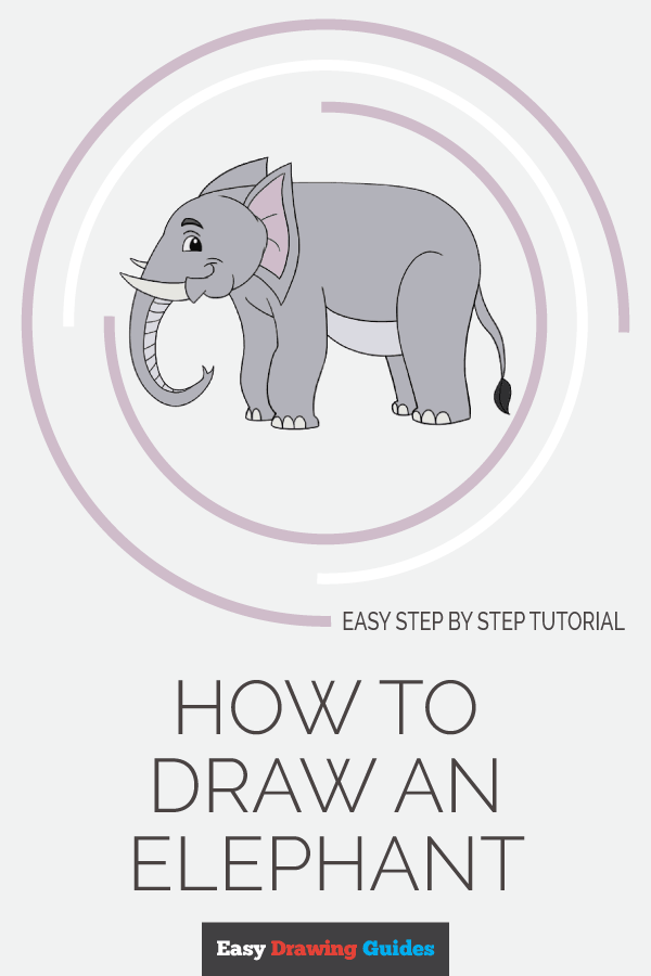 How to Draw Elephant | Share to Pinterest