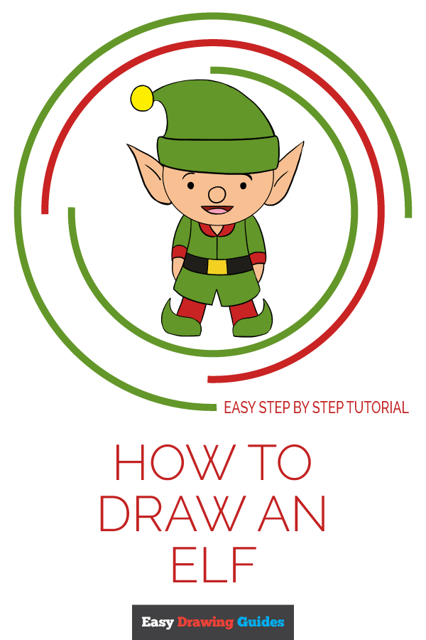 How to Draw an Elf | Share to Pinterest