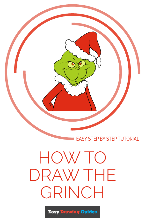 How to Draw Grinch | Share to Pinterest