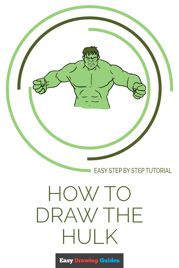 How to Draw Hulk | Share to Pinterest