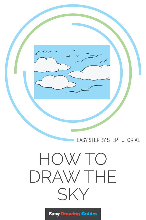 How to Draw Sky | Share to Pinterest