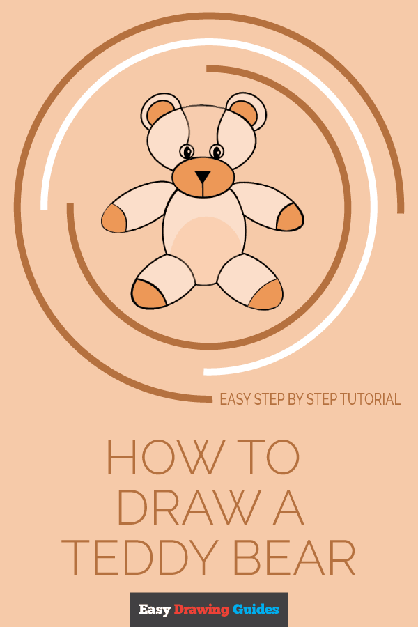 How to Draw Teddy Bear | Share to Pinterest