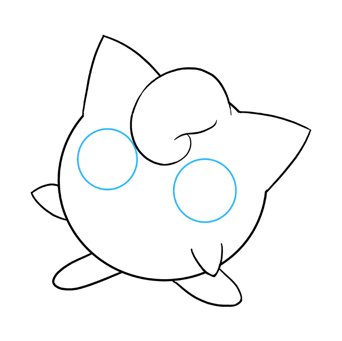 How to Draw Jigglypuff: Step 7