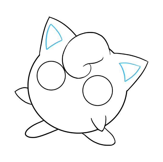 How to Draw Jigglypuff: Step 8