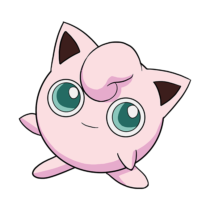 How to Draw Jigglypuff: Step 10