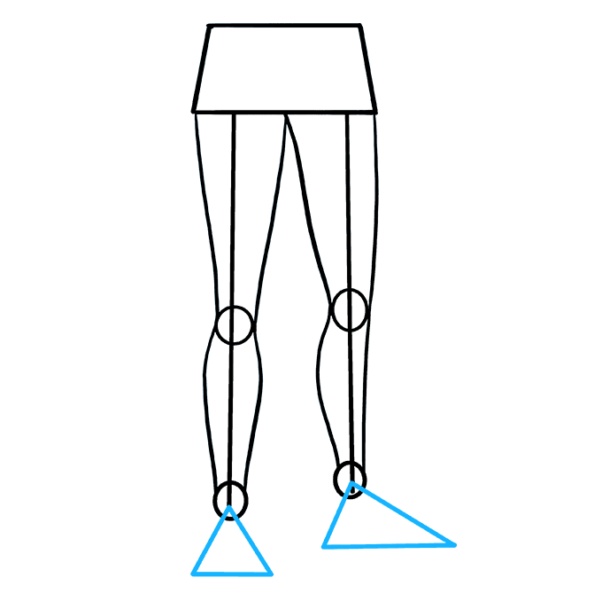 How to Draw Legs: Step 6