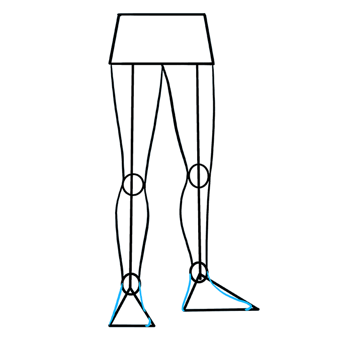 How to Draw Legs: Step 7