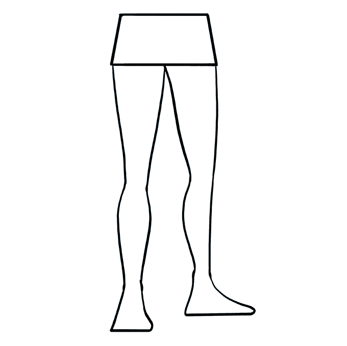 How to Draw Legs: Step 8