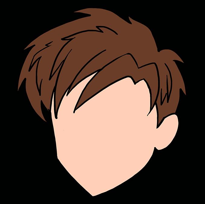 How to Draw Manga Hair 09